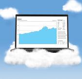 Cloud technologies — Stock Photo
