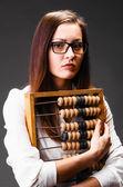 Ler affärskvinna — Stockfoto
