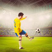 Voetballer — Stockfoto