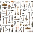 Vintage tools collage — Stockfoto #38816737