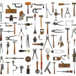 Vintage tools collage — Stock Photo #38816737