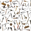 Vintage tools mix collage — Stockfoto #38816813