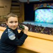 Stock Photo: Boy in theater