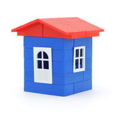 Plastic house — Stock Photo