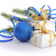 Christmas gift — Stock Photo #35590881