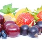 Assorted fresh berries — Stock Photo