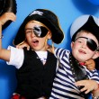 Stock Photo: Two pirate