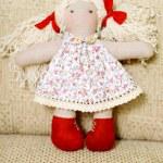 Handmade doll — Stock Photo #29036699
