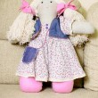 Stock Photo: Handmade doll