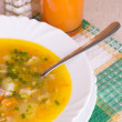 Soup in a bowl - Stock Photo