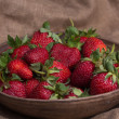 Fresh ripe strawberries — Stock Photo #26474419