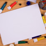 Blank Canvas — Stock Photo
