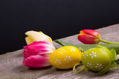 Beautiful easter background — Stock Photo