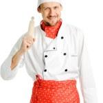 Joyful cook — Stock Photo #18650355