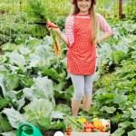Girl in garden — Stock Photo #19110579