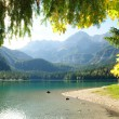 Lac de montagne — Photo