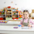 In the kindergarten — Stock Photo