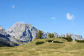 Rocky dağları ve gökyüzü — Stok fotoğraf