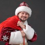 Red Christmass bag — Stock Photo #8577670