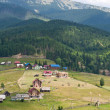 Stock Photo: Village in Carpathians