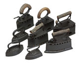 Old irons — Stock Photo