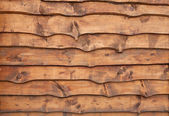 Unhewn wooden boards — Stock Photo