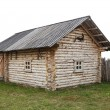 Ancient wooden house — Stock Photo