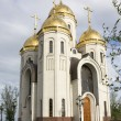Temple of All Saints on a burial mound, city Volgograd, Russia — Stock Photo #22184803