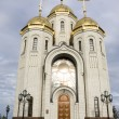 Temple of All Saints on a burial mound, city Volgograd, Russia — Stock Photo