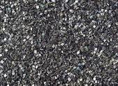 Closeup of black gunpowder — Stock Photo