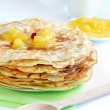 Stock Photo: Pancakes on plate