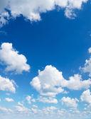 夏时制的天空 — 图库照片