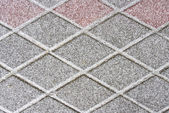 Tile covered with snow — Stock Photo
