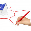 Alternative energy sources — Stock Photo
