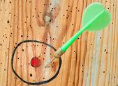 Close up of a dart — Stock Photo