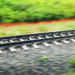 Rails of the railway — Stock Photo