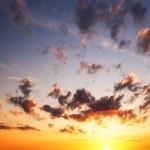 Sunrise sky over the sea. — Stock Photo #47729357