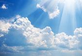 夏时制的天空. — 图库照片
