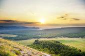 Montanhas de verão — Foto Stock