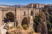 Bridge in the old city of Ronda, Spain — Stock Photo