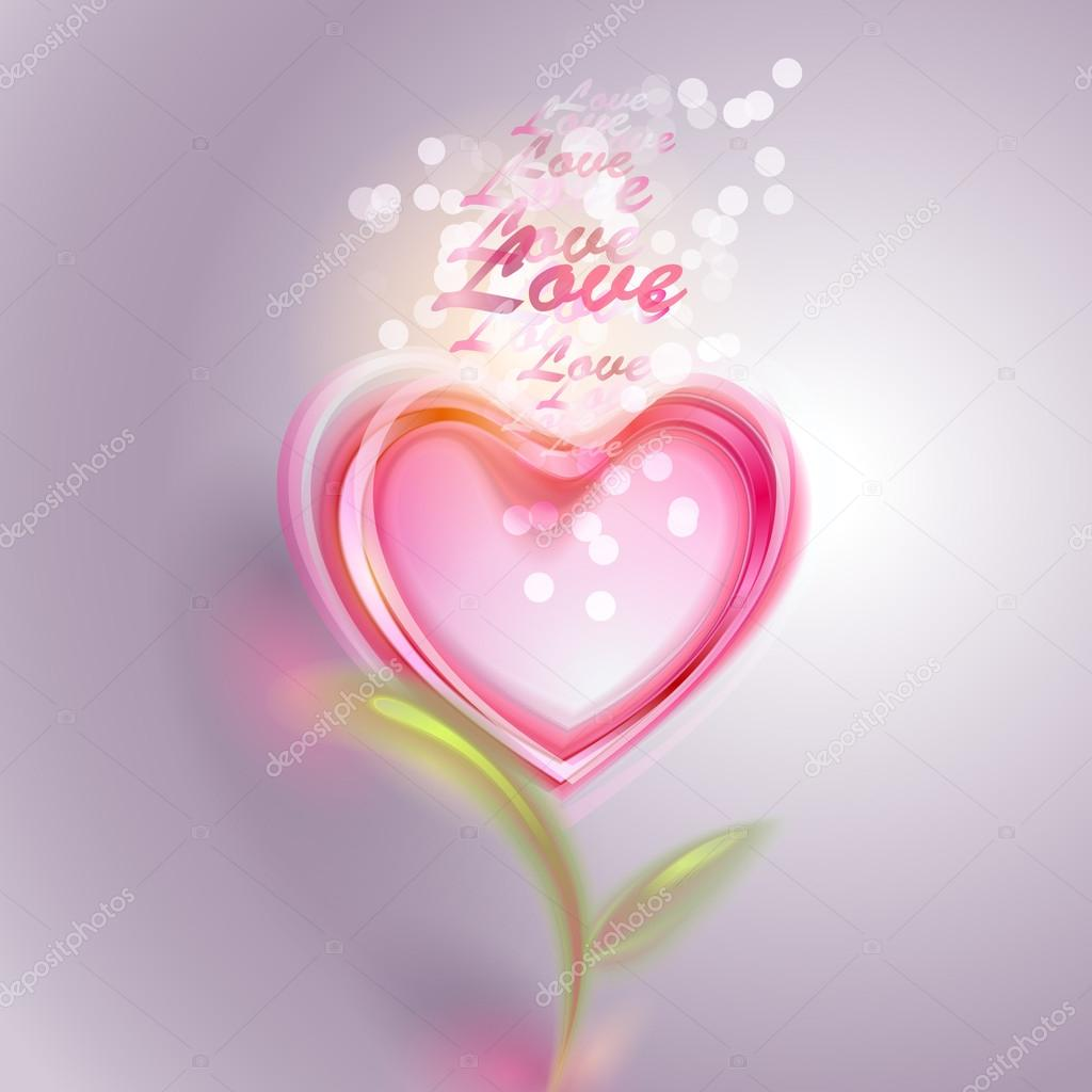 Valentine's day vector background  Stock Vector #18607523
