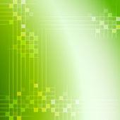Fond abstrait vert — Vecteur