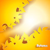Streszczenie tło jesień — Wektor stockowy