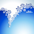 Abstract Christmas winter Background — Stock Vector #32467525