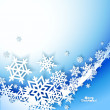 Abstract Christmas winter Background — Stock Vector #32467517