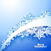 Abstract Christmas winter Background — Stock Vector