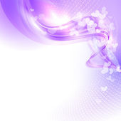 Abstract colorful light valentine background — 图库矢量图片
