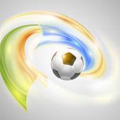Soccer Vector Design — Stock Vector