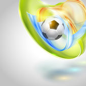 Fotboll vektor design — Stockvektor