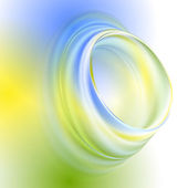 Green yellow blue abstract background — Vetorial Stock